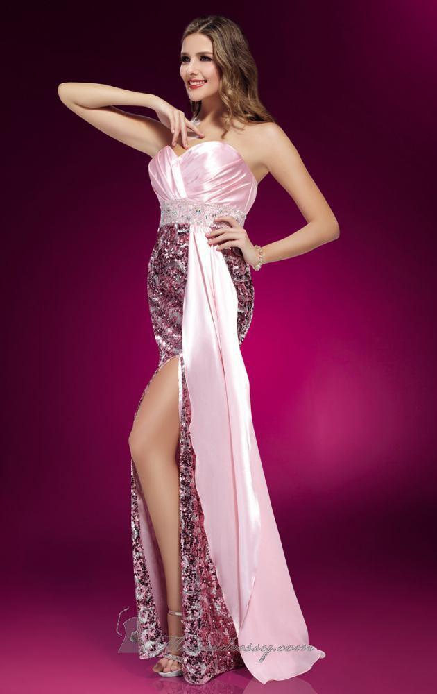 فساتين سهره جذابه , فساتين سهره طويله ,Evening Dresses new_1451934296_162.j